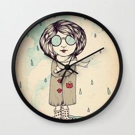 In the Rain Wall Clock