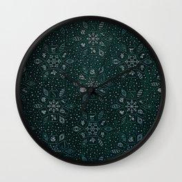 cozy background Wall Clock