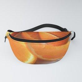 Orange Quarters Fanny Pack