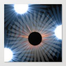 black hole sun Canvas Print