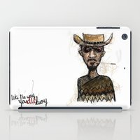 """tarantino iPad Cases featuring The """"D"""" is Silent by Wakkala"""