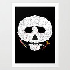 Dove of Death Art Print