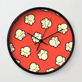 Popcorn Pattern Wall Clock