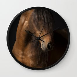 Horse Fine Art Wall Clock