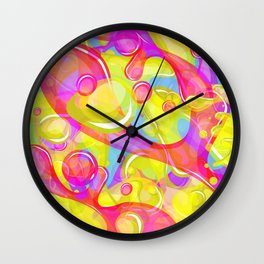 Jello Wall Clock