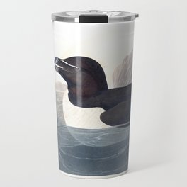 Razor billed auk, Birds of America, Audubon Plate 214 Travel Mug