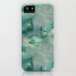 Ghostly Galleons by Katrina Ward iPhone Case