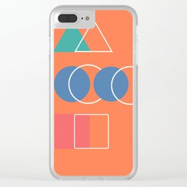 outlines Clear iPhone Case