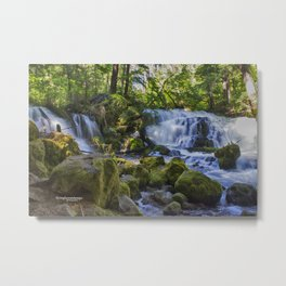 Pearsoney Falls - Prospect, OR Metal Print