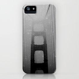 Dark Golden Gate iPhone Case