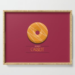 1DONUT - Carrot Serving Tray