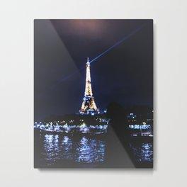 Night over Paris Metal Print