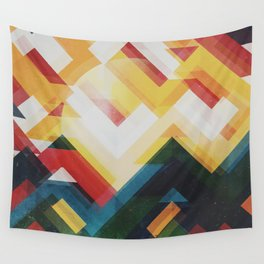 Mountain of energy Wall Tapestry