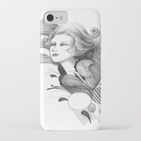 beethoven iPhone & iPod Cases featuring Beethoven by Wendy Ding: Illustration