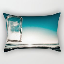 Glass beach Rectangular Pillow