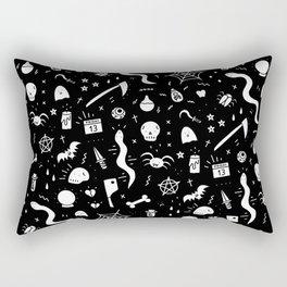 SPOOKY HALLOWEEN! - PATTERN Rectangular Pillow
