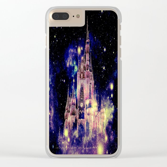 Celestial Palace Deep Pastels Clear iPhone Case
