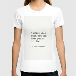 Chinese proverb 5 T-shirt