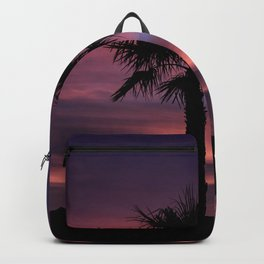 Palm Sunset - 8 Backpack