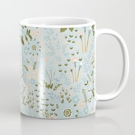 Star Sapphire Floral Celebration Moss Coffee Mug