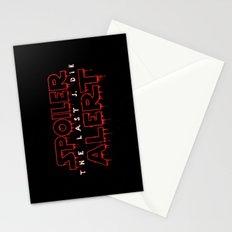 Spoiler Alert The Last J. Die Stationery Cards