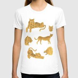 Tiger, Lion, Cheetah T-shirt