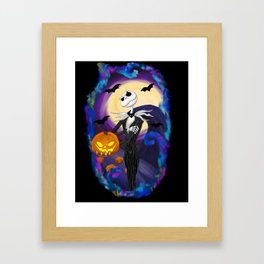 Colorful nightmare Framed Art Print