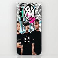 blink 182 iPhone & iPod Skins featuring Blink 182 best decoration design by customgift