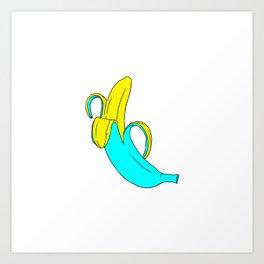pis-ang (banana) Art Print