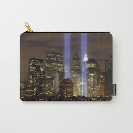 New York City Buildings at Night Carry-All Pouch