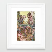 grease Framed Art Prints featuring Grease! by Andy Hopp