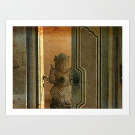 Leave the door opened Art Print