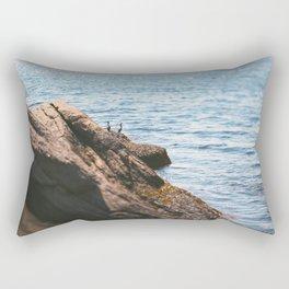 Opposing Views Rectangular Pillow