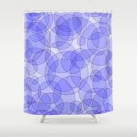 bubbles Shower Curtains featuring Bubbles by Harvey Warwick