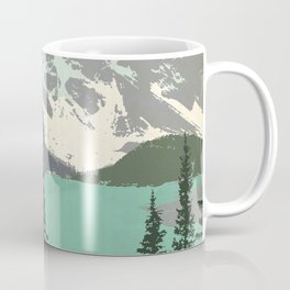 Moraine Lake Poster Coffee Mug