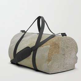 Soft Gold and Creamy Marble Pattern Duffle Bag