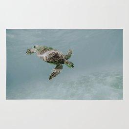 sea turtle ii Rug