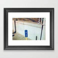 Ew York Framed Art Print