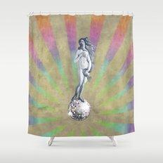 Disco Venus Shower Curtain