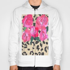 Tiger print with chain Hoody