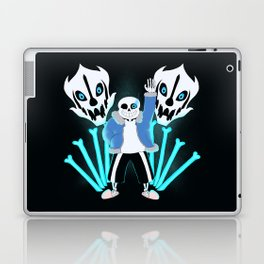 Sans the Skeleton Laptop & iPad Skin