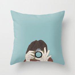Make It F-Stop Throw Pillow