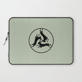 Three Hares Laptop Sleeve