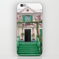 monet iPhone & iPod Skins featuring Monet House by Rachael Nicole