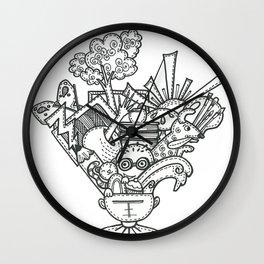 Mindblown Wall Clock