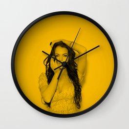 Lindsay Lohan - Zoom Wall Clock