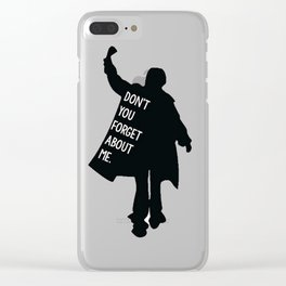 Breakfast Club 80s Clear iPhone Case