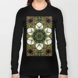 Kaleidoscope of puffball fungus Long Sleeve T-shirt