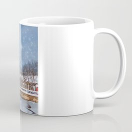 Morningstar Mill in Winter Coffee Mug
