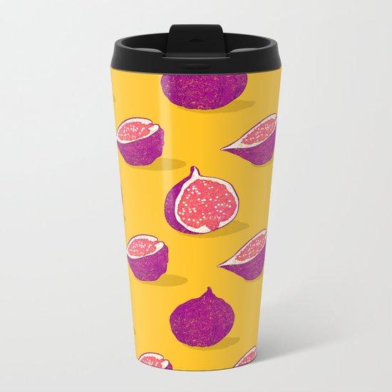 Fig Metal Travel Mug
